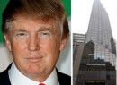 From left: Donald Trump and 725 Fifth Avenue