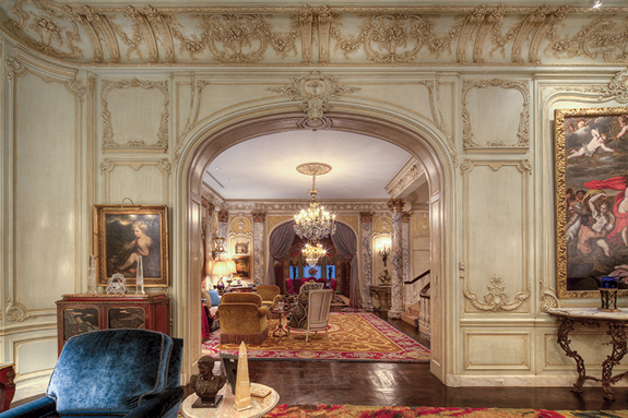 Pricey nyc properties ritz carlton woolworth mansion for Manhattan mansions for sale
