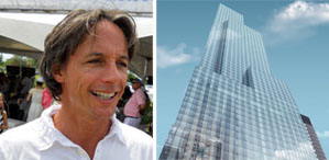 From left: <b>Michael Hirtenstein</b> (credit: Hamptons Magazine ) and a rendering <b>...</b> - 10