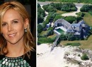 From left: Tory Burch and her Southampton estate