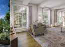 Renderings of the exterior and interior of 18 Gramercy Park