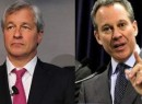 A.G. Eric T. Schneiderman and JPMorgan's Jamie Dimon
