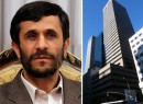 From left: Mahmoud Ahmadinejad and 650 Fifth Avenue