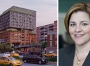 From left: a rendering of Chelsea Market and Speaker Christine Quinn