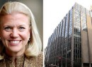 From left: IBM CEO Virginia Rometty and 63 Madison Avenue