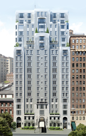 A rendering of 135 East 79th Street