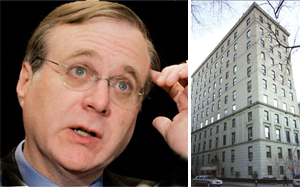 Paul Allen, cofounder of Microsoft and 4 East 66th Street, where Allen bought a co-op for $25 million last year