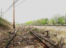 Abandoned Rockaway Beach LIRR tracks