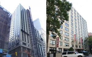 180 Broadway and the Stuyvesant Park Residence on East 15th Street