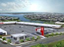 A rendering of the Throgs Neck Shopping Center