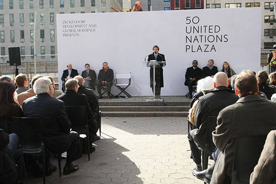 Zeckendorf Developemenmt andGlobal Holdings Present 50 United Nations Plaza