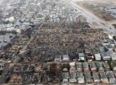 Sandy storm fire damage in Breezy Point, Queens (credit: Business Insider)