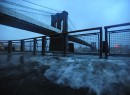 Sandy hits the East River (credit: ZUMA Press)