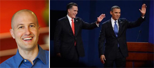 Jed Kolko, Mitt Romney and Pres. Barack Obama