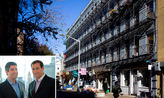 Jeffrey Kaye and Robert Morgenstern of Stone Street Properties and 260-268 Elizabeth Street