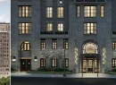 Two exterior renderings of 135 East 79th Street