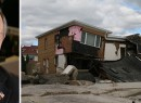 From left: Mayor Bloomberg and storm damage in the Rockaways