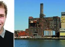 From left: Two Trees&#039; Jed Walentas and the Domino Sugar Factory