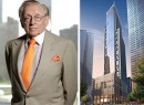 Larry Silverstein and a 3 WTC rendering