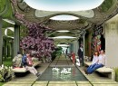 A rendering of the Lowline