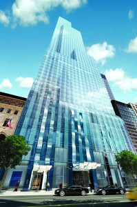 Apartments are slated to begin closing at One57 in 2013