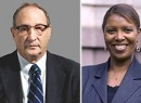 Bruce Ratner and Councilwoman Letitia James