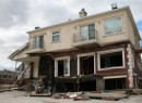 A storm-damaged home in the Rockaways