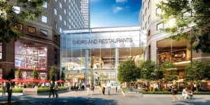 A rendering of the new retail shops at Brookfield Place
