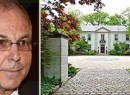 From left: Peter Madoff and his Long Island manse (credit: Zillow)