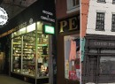 From left: Bleecker Street Records and a rendering from the space's listing