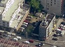 Aerial shot of the 210 Delancey lot