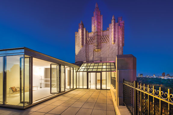 Burger is one of the brokers listing a duplex at 55 Central Park West for $35 million.