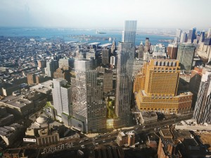 A rendering of the second phase of the City Point development