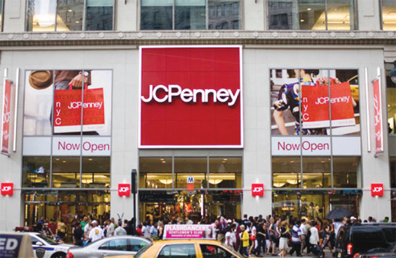 JCPenney signed a lease for roughly 38,000 square feet of retail space