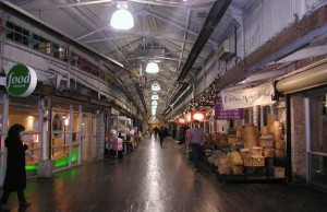 Chelsea Market&#039;s food concourse