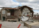 A storm-damaged Rockaways home