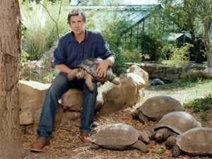 Eric Goode at the Behler Chelonian Center in Ojai, Calif.