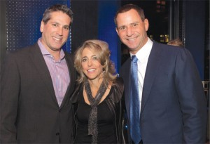 From left: Former Citi Habitats head of new development marketing Clifford Finn, Pamela Liebman and Gary Malin.