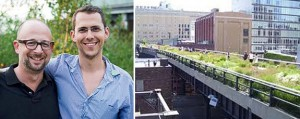 Joshua David, Robert Hammond and the High Line