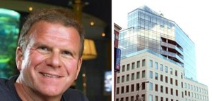 Tilman Fertitta and One York Street (Building image c/o CityRealty)
