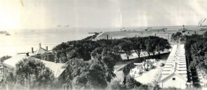 A 1938 photo of Governors Island recently uncovered
