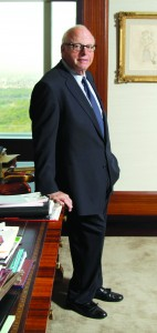 Douglas Elliman chairman Howard Lorber, whose Vector Group owns about 50 percent of the firm