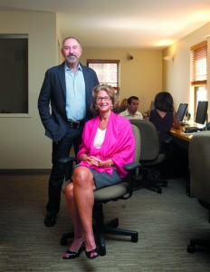 Paul Purcell and Kathy Braddock, who own a combined one-third of Rutenberg Realty