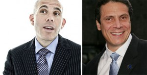 Scott Rechler and Gov. Andrew Cuomo