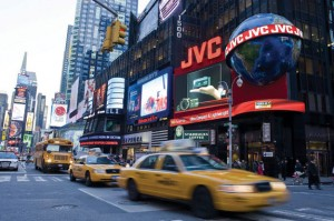 Several billboard companies with strong presences in New York, including Clear Channel and CBS Outdoors, are gearing up to go public.