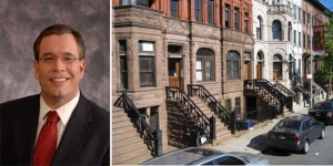 Scott Stringer and brownstones with basement entrances