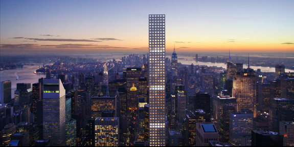 A rendering of 432 Park Avenue