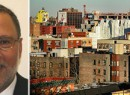 From left: CBRE's Lon Rubackin and East Harlem