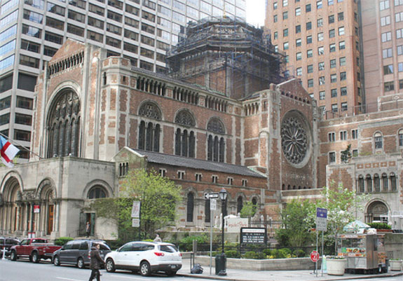 St. Bartholomew's Church, which has just under 650,000 square feet of air rights