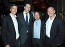 From left: Observer publisher Jared Kushner, Observer CEO Joseph Meyer, CORE co-founder Jack Cayre and CORE CEO Shaun Osher (credit: Patrick McMullan)